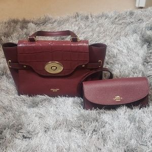 Coach wallet and Purse set